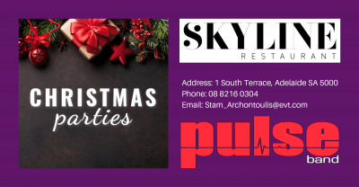 Christmas Parties in Adelaide