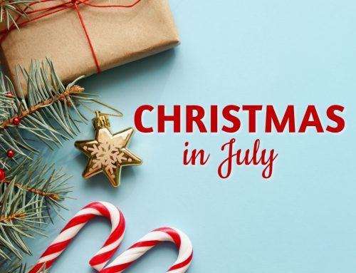 Celebrate Christmas in July at Skyline Restaurant